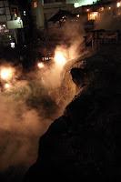 草津温泉街中核の湯畑