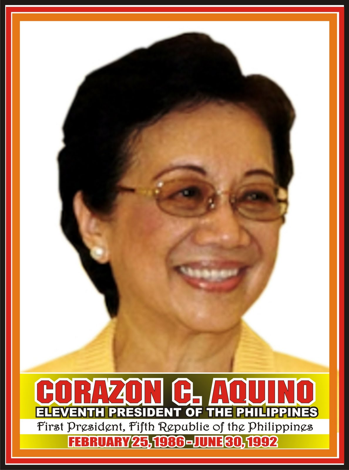 a biography of corazon aquino cory the first woman president of the philippines Corazon aquino from wikipedia she was the first female president of the i am saddened to hear of the death of corazon cory aquino the former president of t.