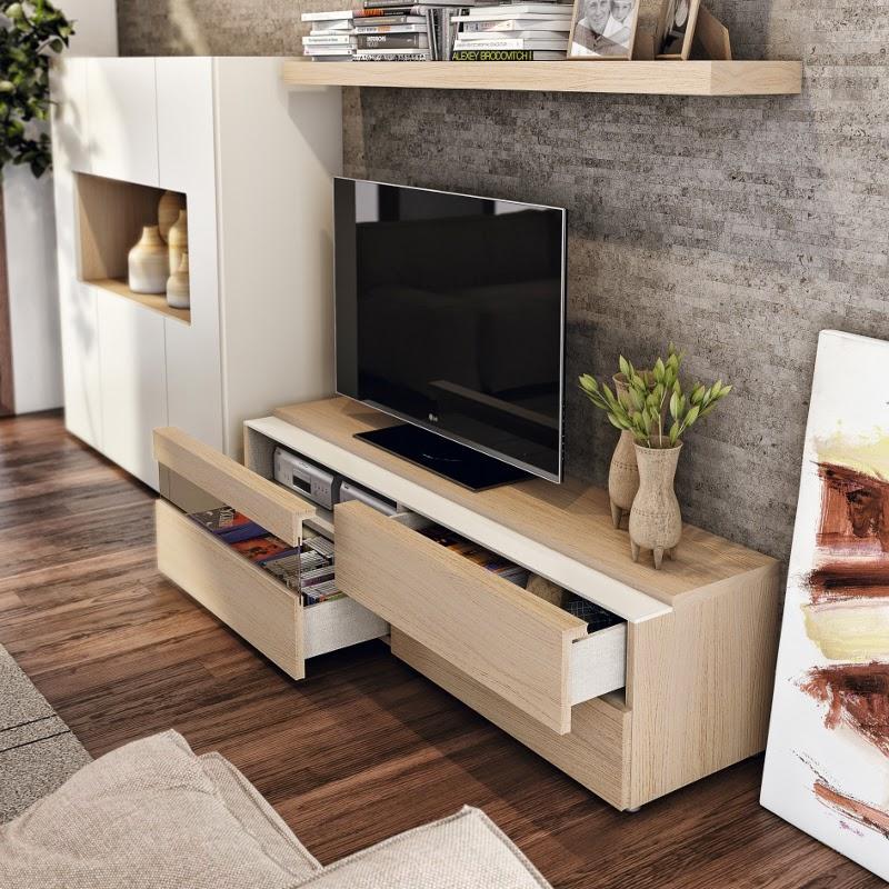 Fotografias de muebles de salon modernos for Modulos para comedor