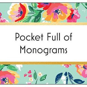 POCKET FULL OF MONOGRAMS