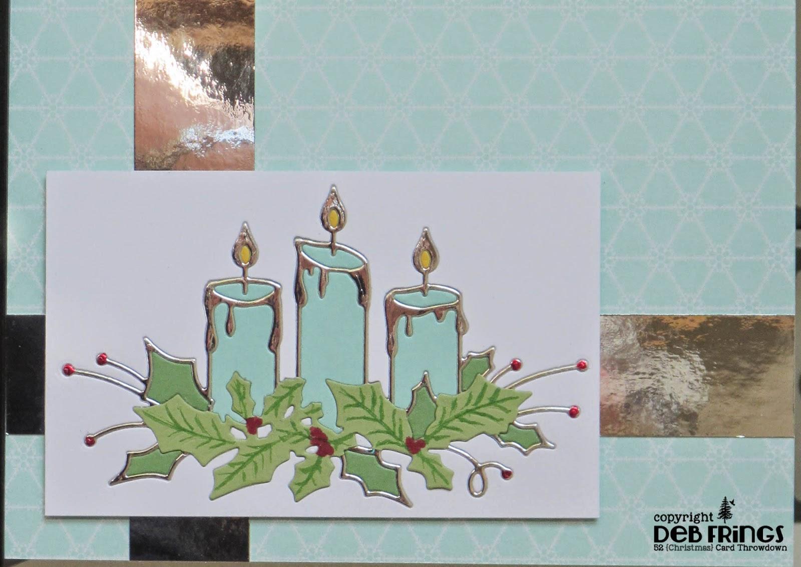 Candle Trio - photo by Deborah Frings - Deborah's Gems