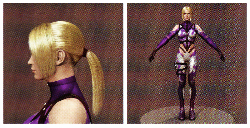 Tekken Nina CG Movie Model