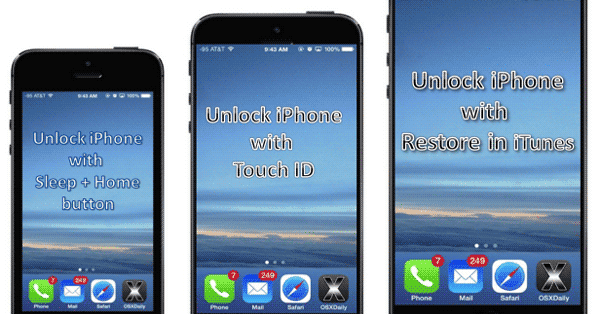 How to unlock iphone 5 passcode with computer