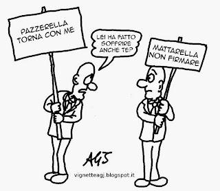 Mattarella, italicum, vignetta , satira