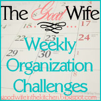 TGW Weekly Organization Challenge
