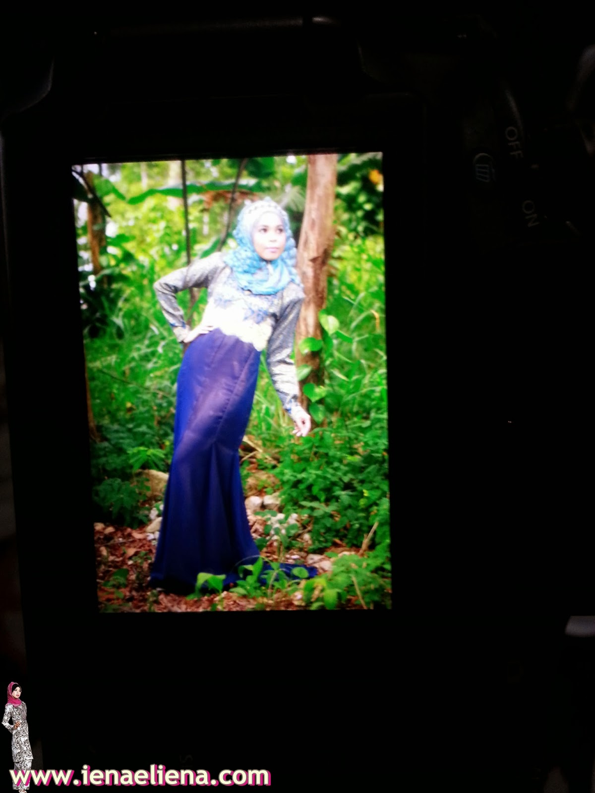 Behind The Scene Photoshoot Songket Bullyn Collections V2