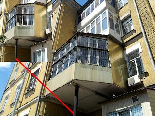уродливые балконы