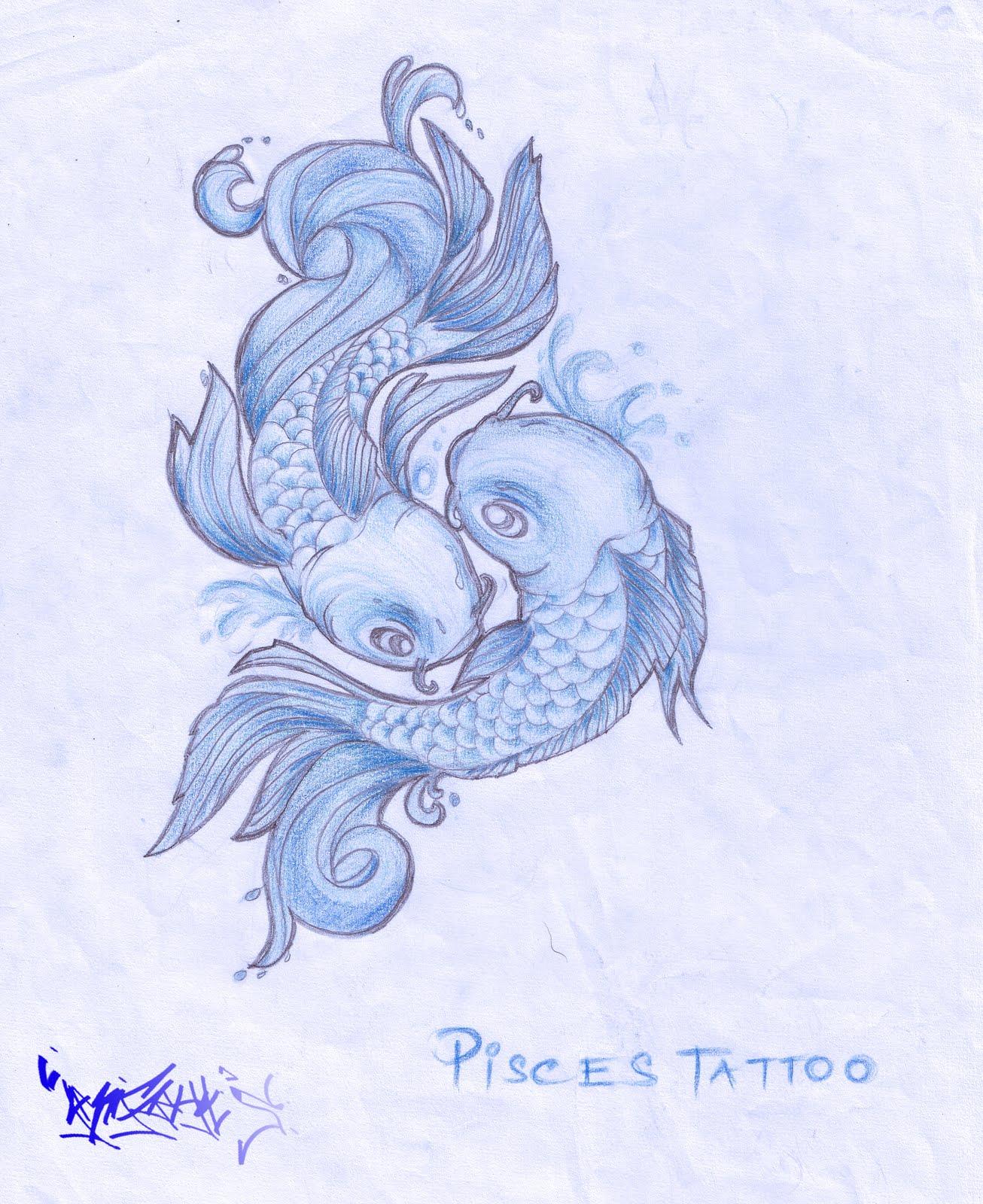 concept_Pisces tattoo