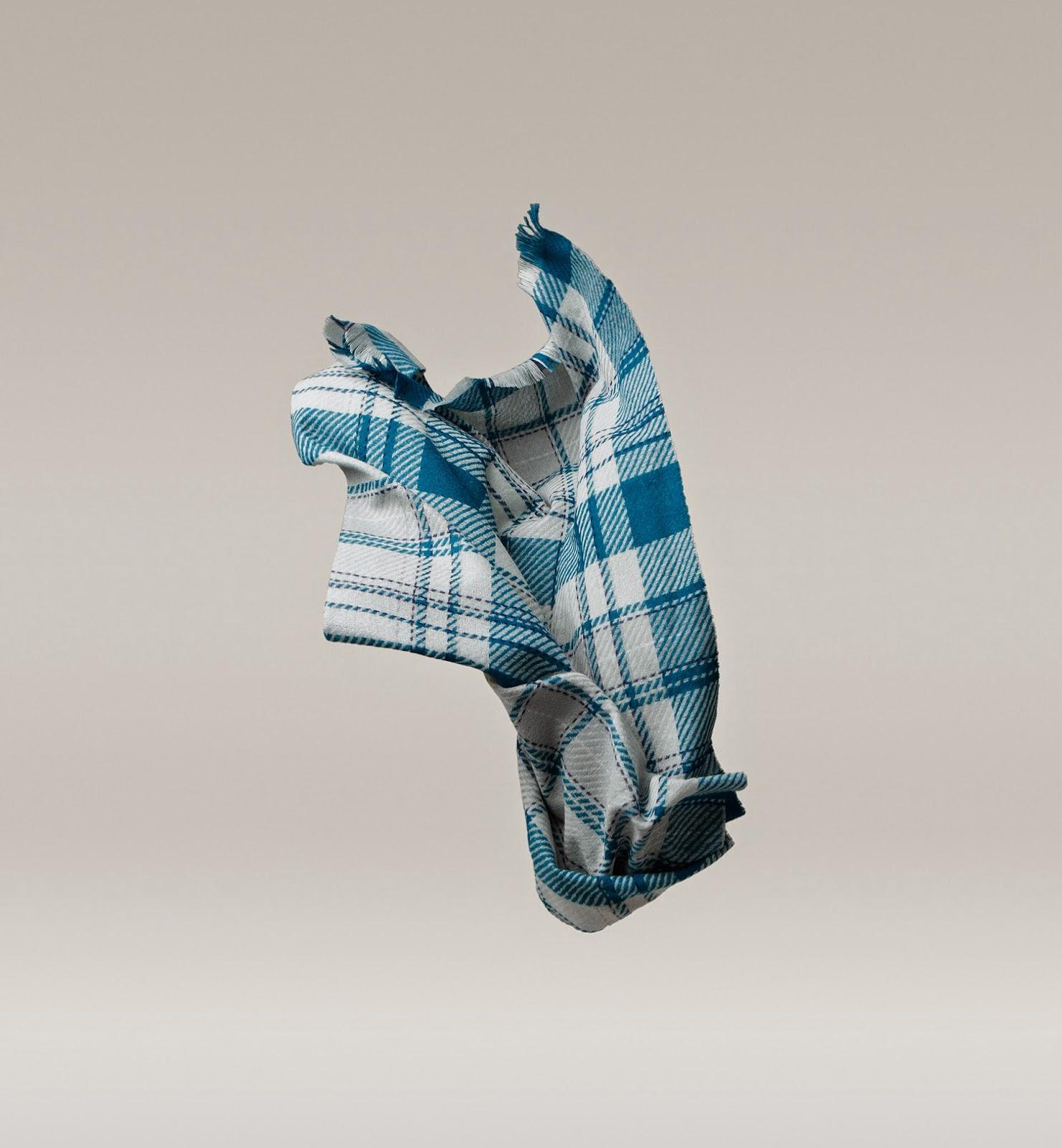 bufanda cuadros Massimo Dutti