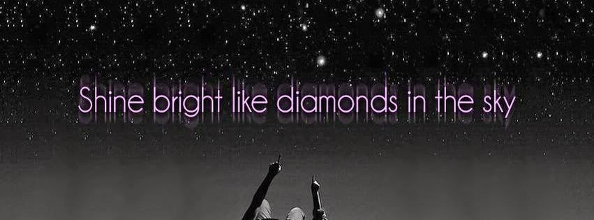 Diamond sky cover photo for facebook