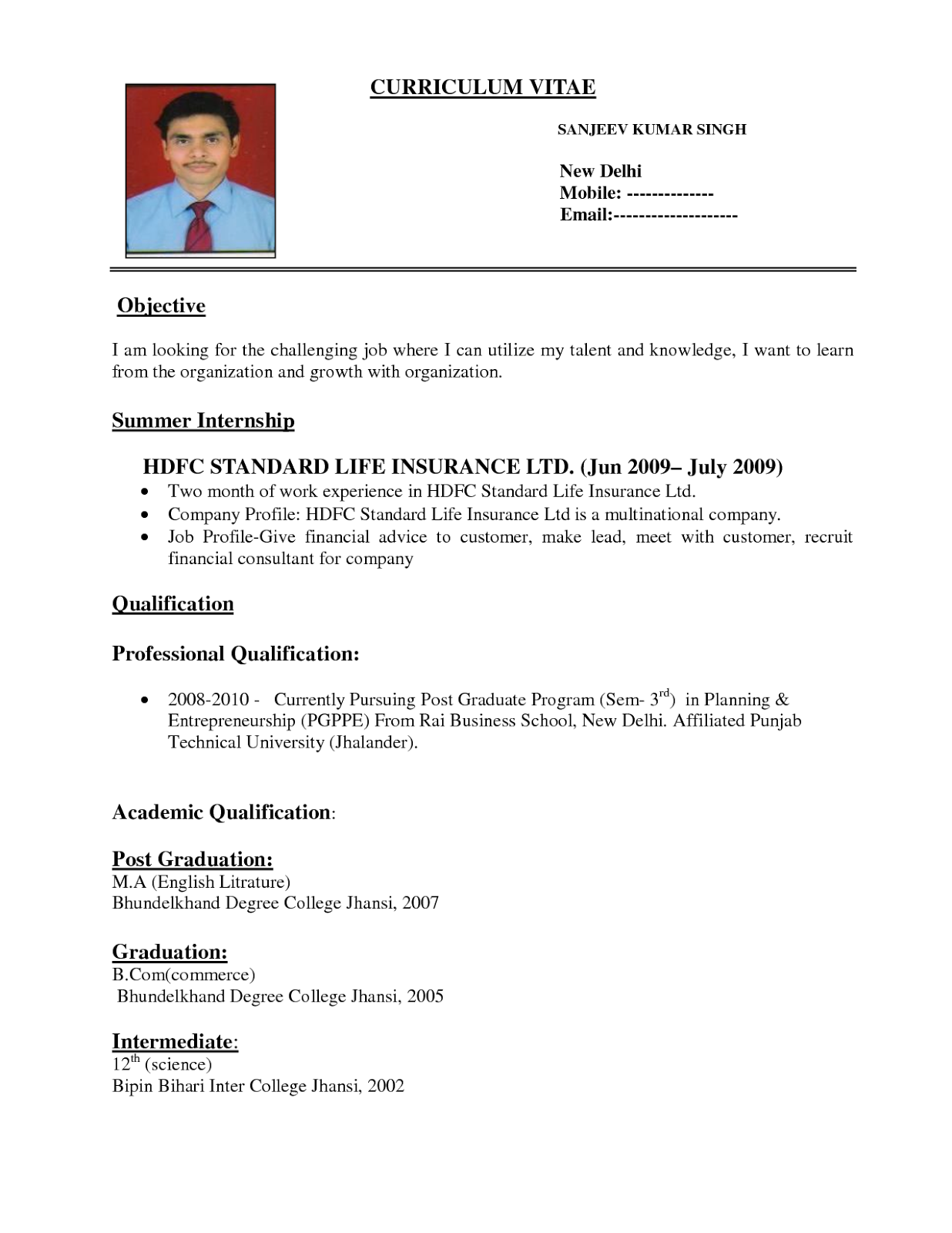 Wel e to KiKi s blog Sample Resume format examples