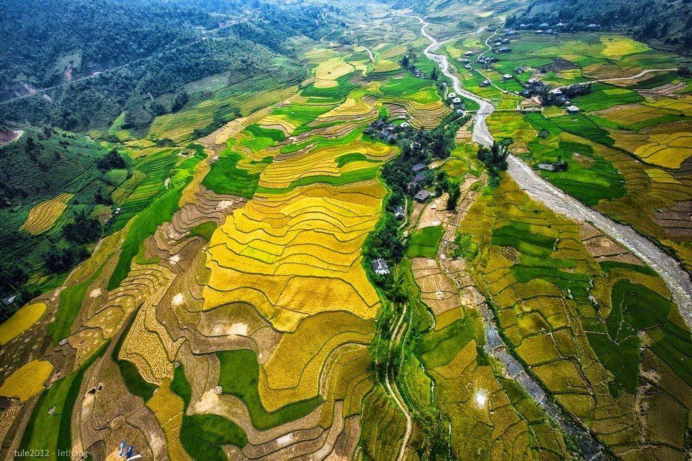 Si Ma Cai in Lao Cai offers an equally picturesque and more serene alternative