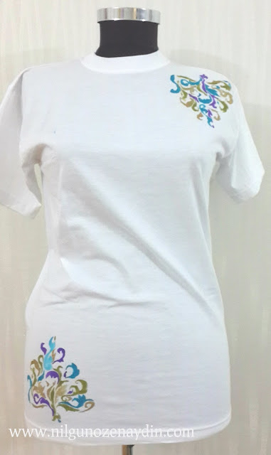www.nilgunozenaydin.com-kumaş boyası-how can you paint a T-shirt-diy-kendin yap-fabric paint