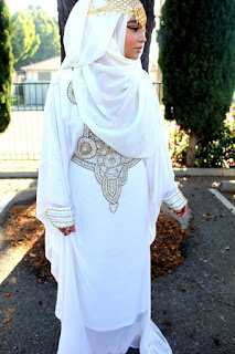 koleksi baju pengantin bertudung