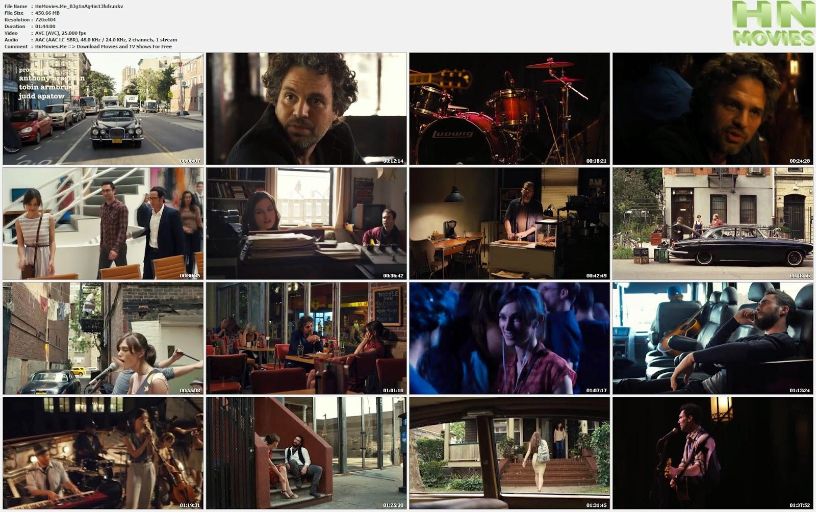 movie screenshot of Begin Again fdmovie.com