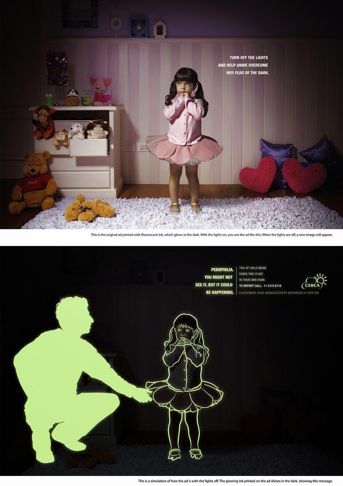 Cerca, publicidad, pedofilia