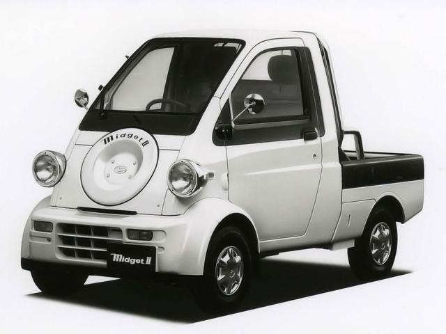 Daihatsu Midget II, ciekawe samochody, uniakalne, nadzwyczajne, śmieszne auta, JDM, Japonia, japońska motoryzacja