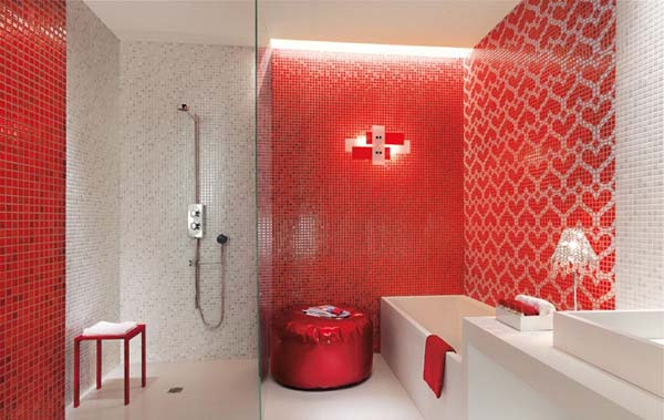 keramik dinding kamar mandi model minimalis