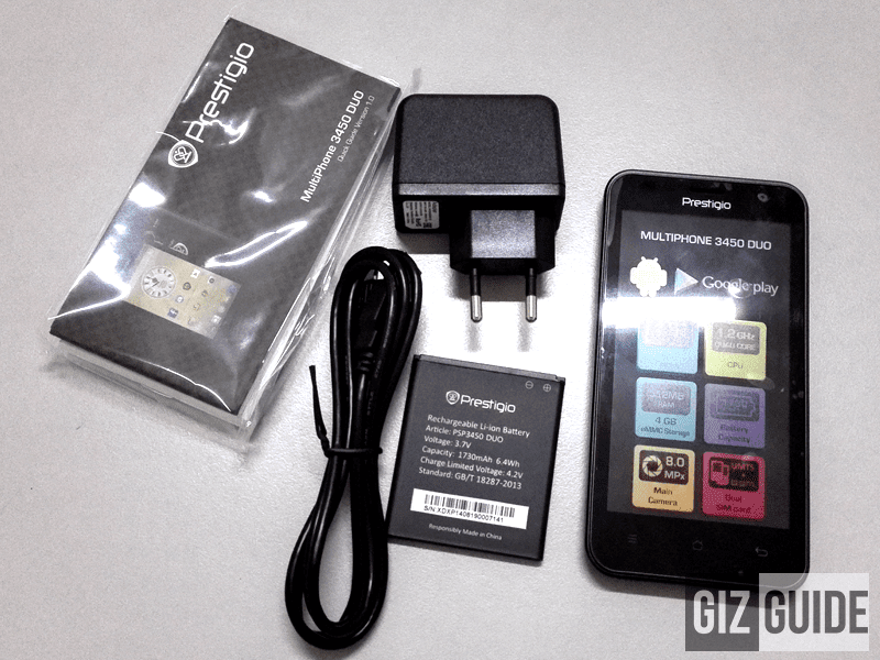 PRESTIGIO MULTIPHONE 3450 DUO QUICK REVIEW, ELEGANCE ON LIMITED BUDGET!