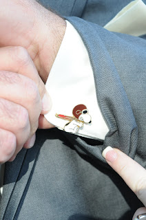 unique groom cufflinks