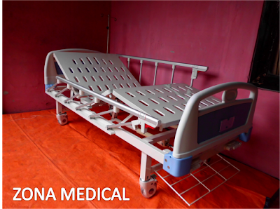Tempat Tidur Pasien Rumah Sakit ABS 2 Crank SELLA [ RZ-29A ]