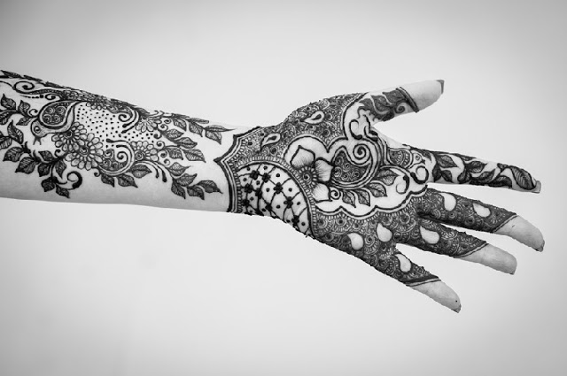 Latest Mehndi Designs For Hand By Kiran Sahib 2013-2014