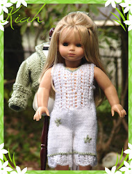 Kiah ~ a lace detailed jump suit knitting pattern