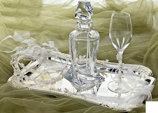 crystal set for wedding
