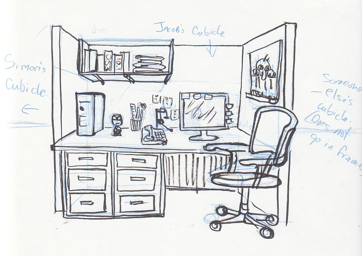 office drawing. can\u0027t stop drawing office f