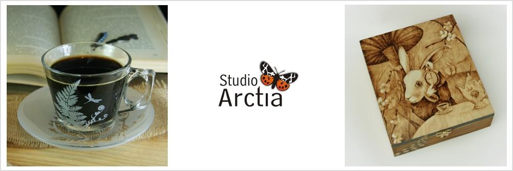 Arctia- piaskowanie, pirografia i inna twórczość