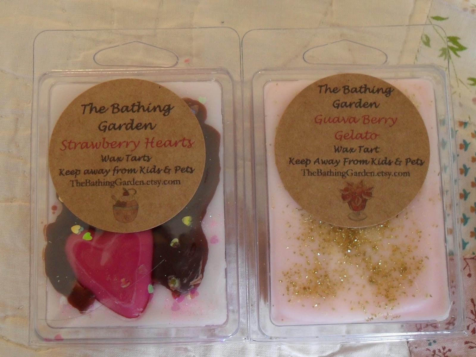 dana\'s little wax blog.: The Bathing Garden haul(s) #1