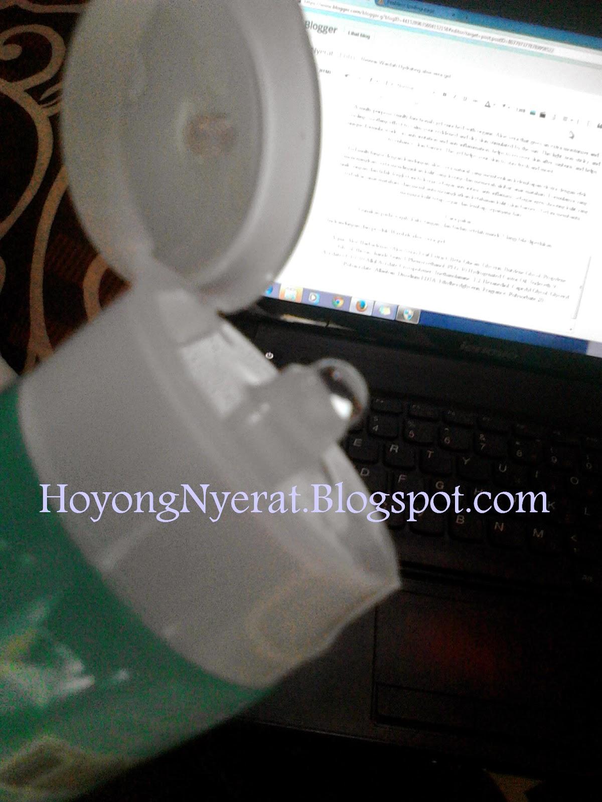 HoyongNyerat Review Wardah Hydrating Aloe Vera Gel