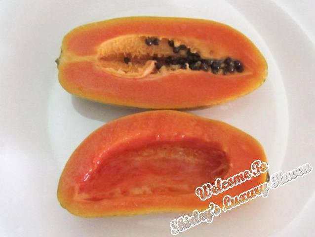 hawaiian papaya dessert recipe