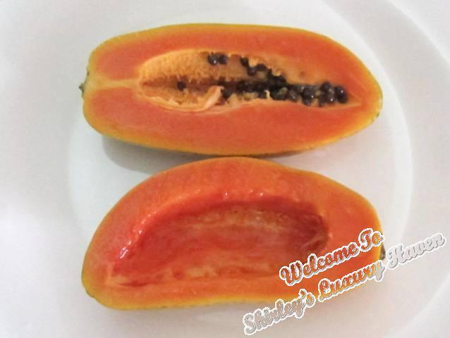 hawaiian papaya dessert recipe