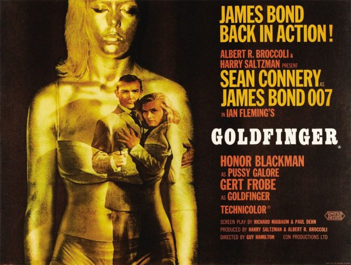 50 years of james bond movie posters damn cool pictures. Black Bedroom Furniture Sets. Home Design Ideas