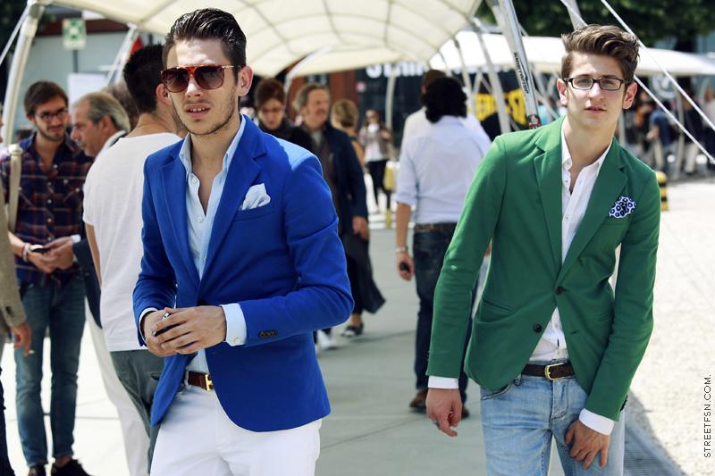 MENS MANNER: Mens Color Suits/Blazer