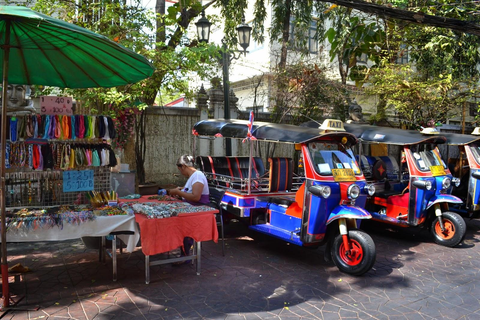Thailande, bankok, voyage, khao san road, tuk tuk