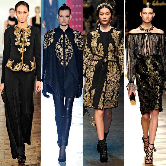 barroco, barroque, trend fall 2012, tenência outono inverno 2012, brocado