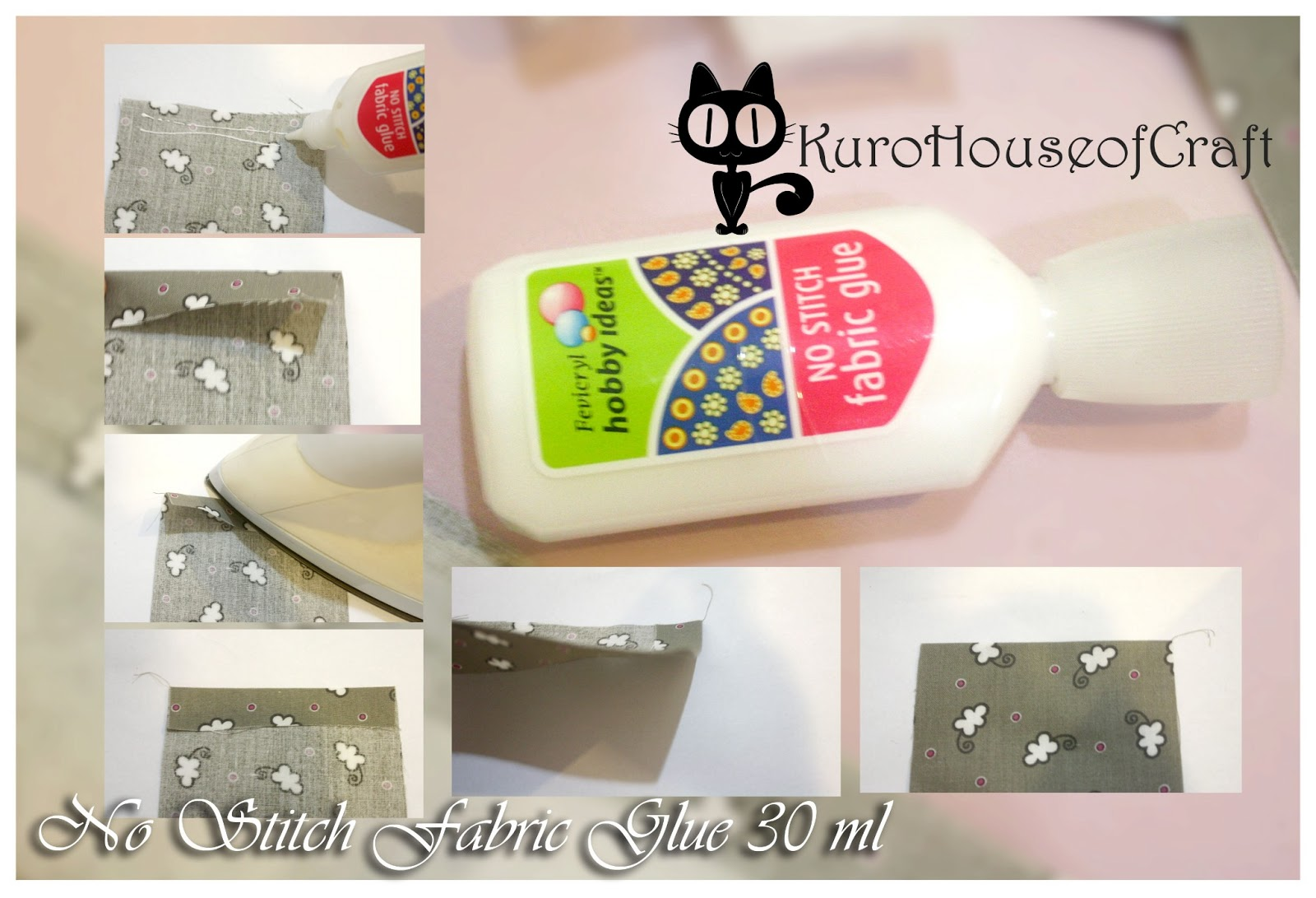 Craft Glue (macam-macam lem untuk craft-ku)