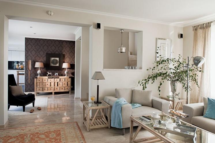 Interior electicismo en clave ex tica decoraci n for Cocinas antiguas recicladas