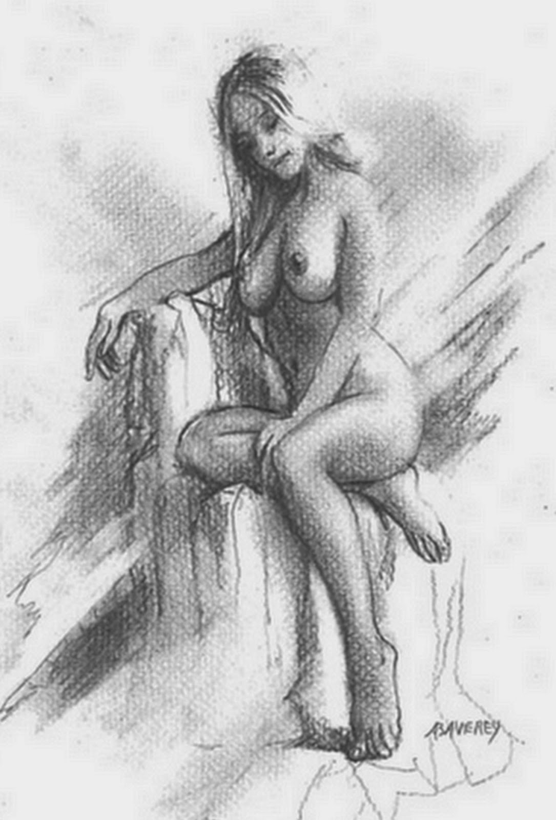 mujer-dibujo-a-lapiz