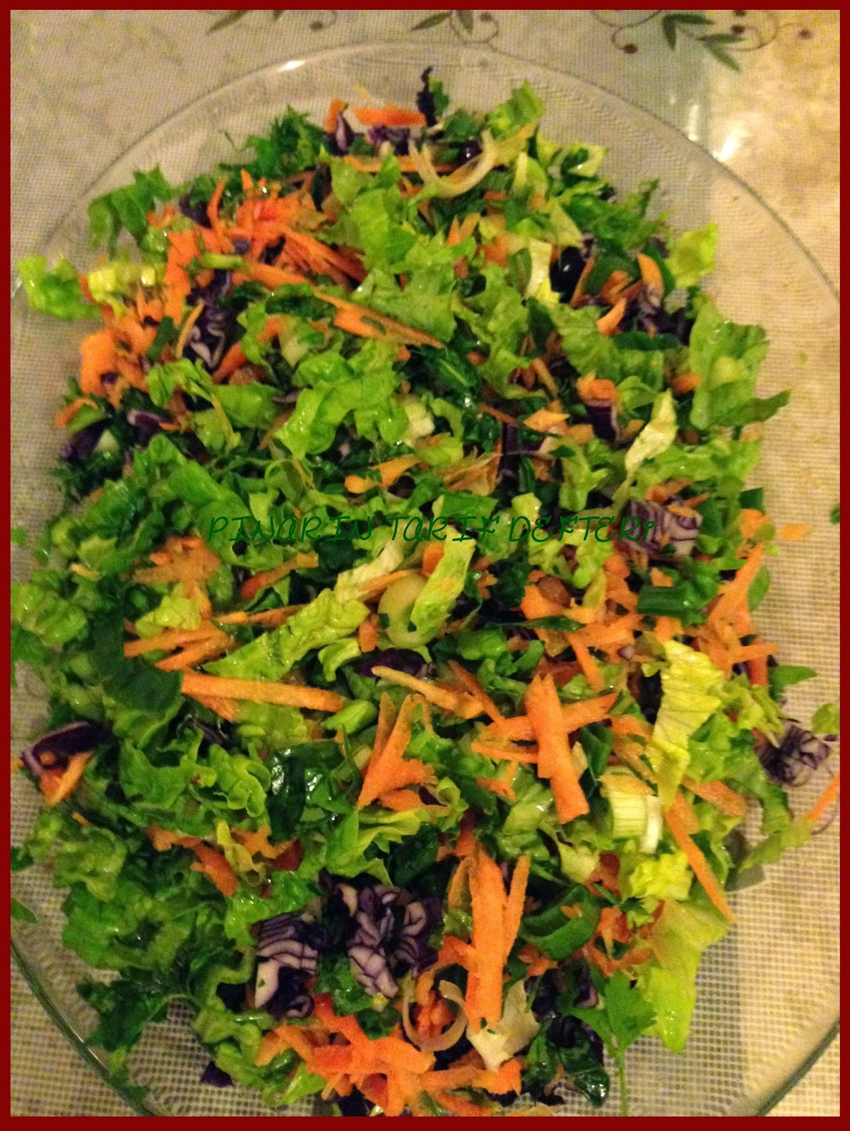 Sarkaç: Siyah Pirinç Salatası