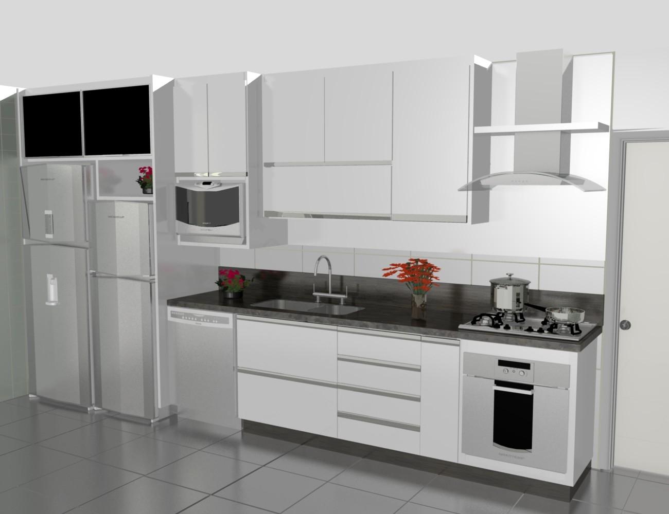 Cozinha Americana Modulada Best Leiart Moveis Panejados Marcenaria