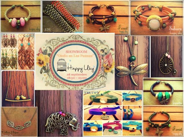collares, pulseras, pendientes, bracelets