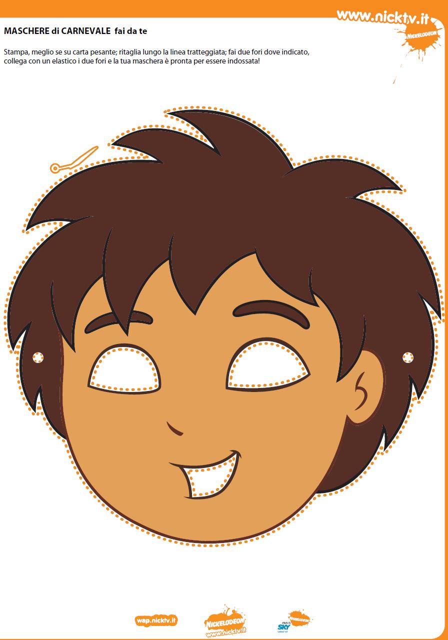 Máscaras de Dora la Exploradora para Imprimir Gratis. | Ideas y ...