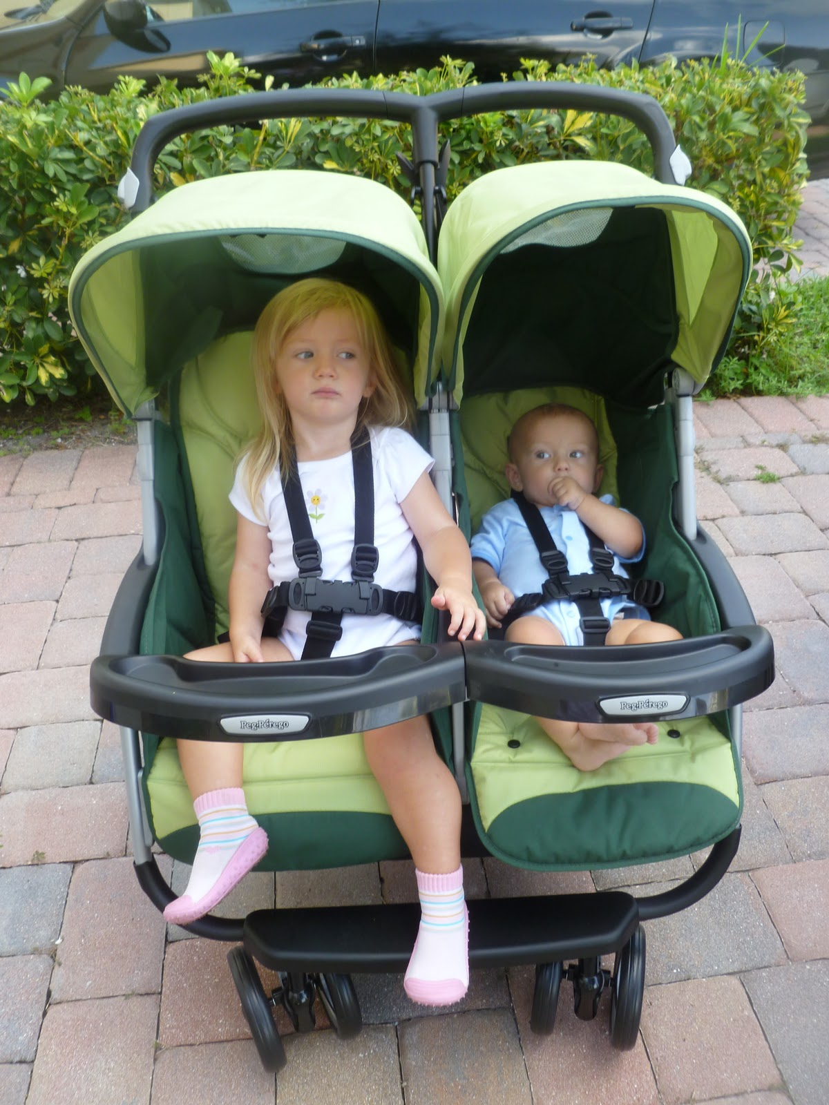 Peg Perego Aria Twin 60 40 Double Stroller Review
