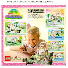 Early LEGO Paradisa System 1992-97