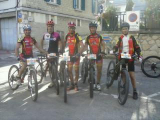 l'équipe BCP à la Transvercors