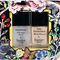 butter LONDON, butter LONDON Hardwear Top Coat, butter LONDON Nail Foundation base coat, nails, butter LONDON nail polish, butter LONDON nail varnish, butter LONDON nail lacquer