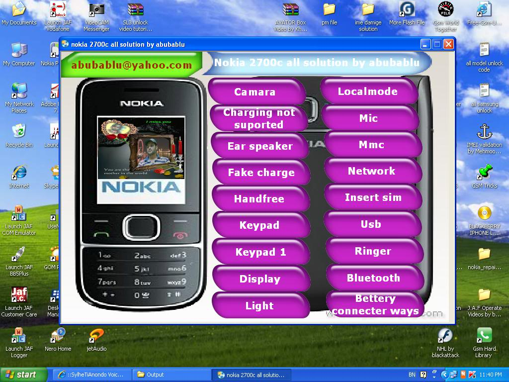 Nokia 5130c flash chip is not detected